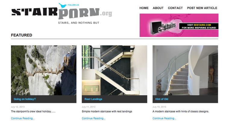 Stair Porn blog