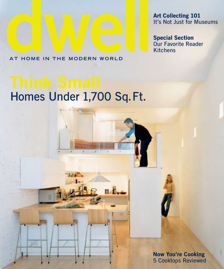 May 2006 Dwell Cover Small Spaces