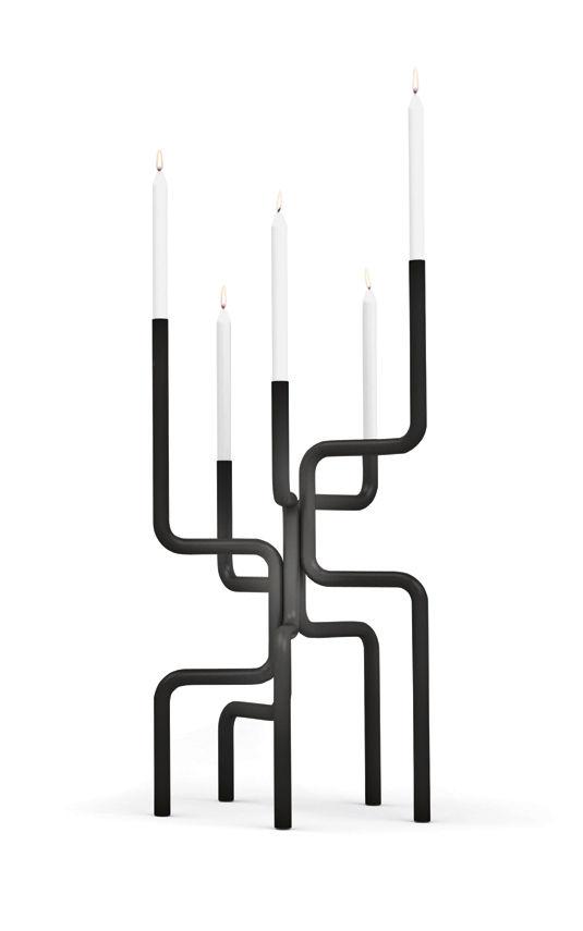 Walk of Flames candelabra by Frederik Roijé