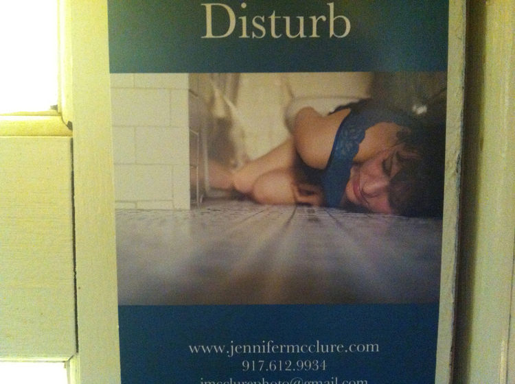 "Today's Promo Daily is Jennifer McClure's ""Do Not Disturb"" photography mailer, she's from New York City."