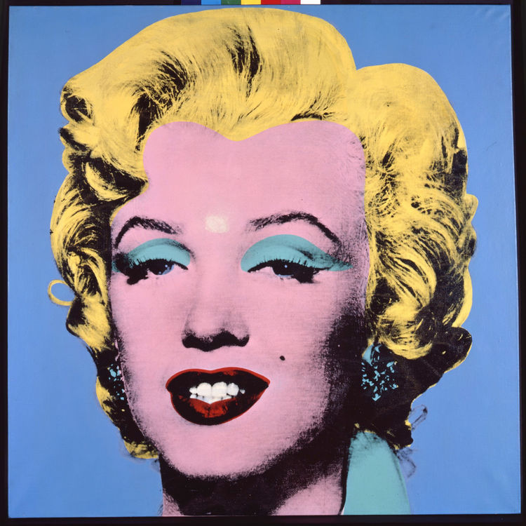 Andy Warhol at The Brant Foundation Study Center