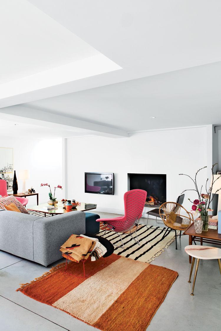 Modern Belgian living room