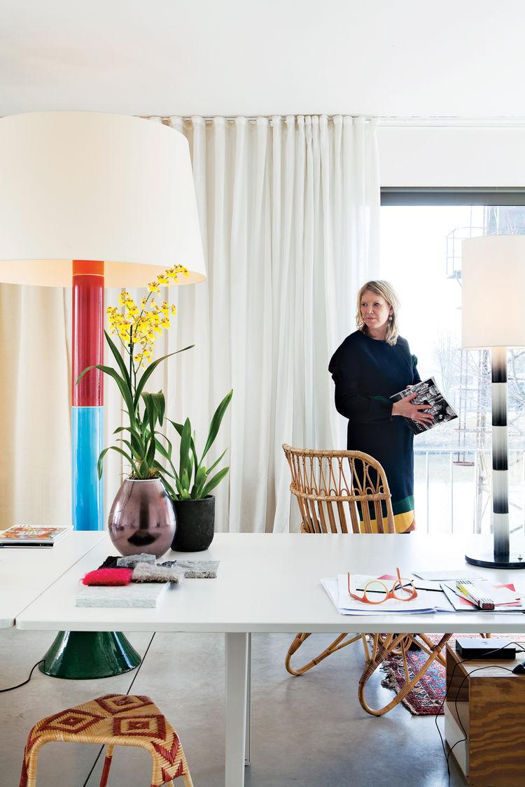 Modern home office in Belgium