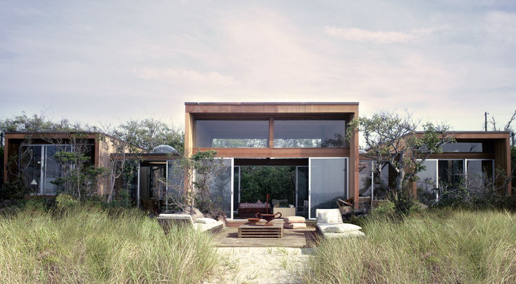 Modern beach house by Horace Gifford on Fire Island