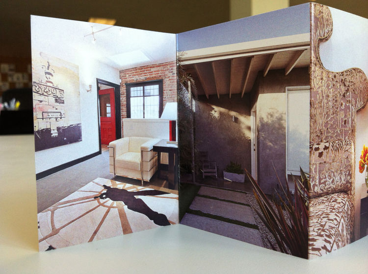 Detail of the images included in Izumi Tanaka's photography promo. interiors design entrace way furniture
