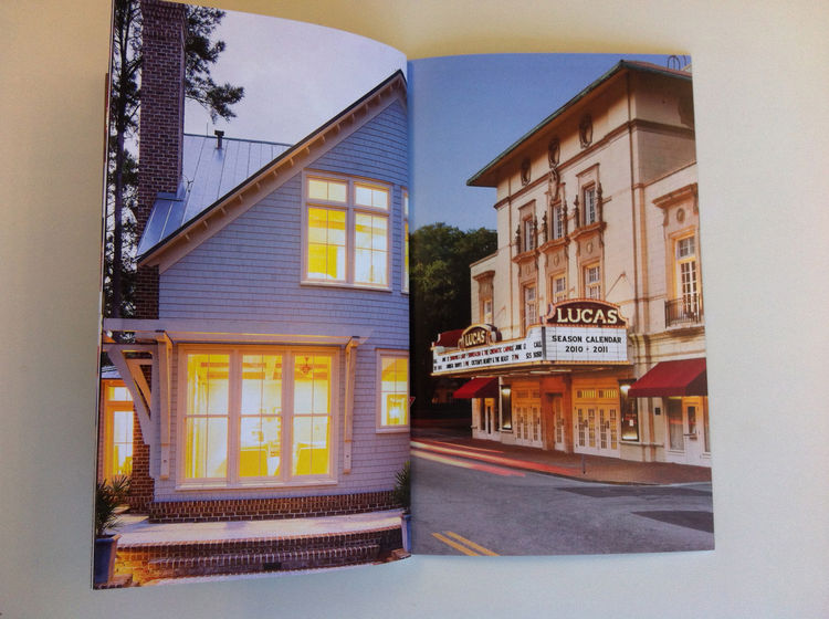 Exterior of a town at night, a part of Dennis Burnett's promo. downtown architecture building streets