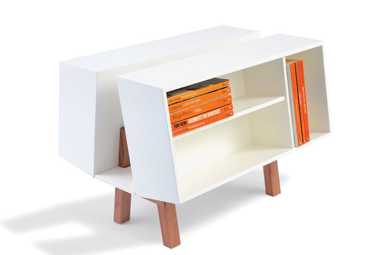 Ernest Race designed this iconic Penguin Donkey 2 bookcase in 1963 for Isokon
