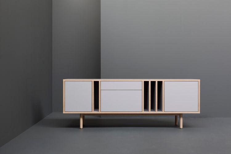 modern console by derek welsh
