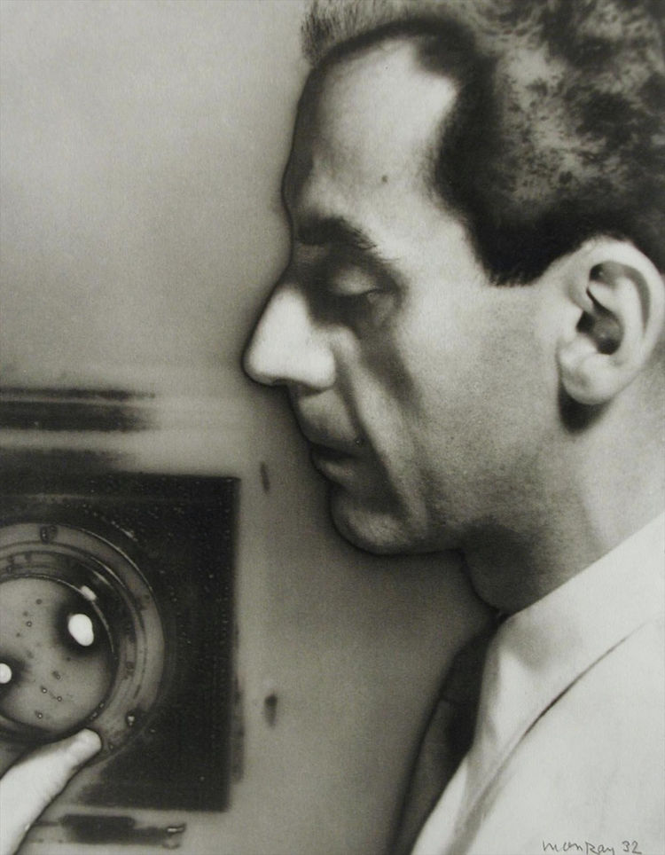 Self portrait by Man Ray