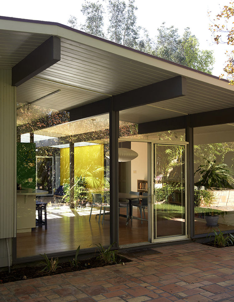 Fairhaven Tract Eichler Homes Model by A. Quincy Jones