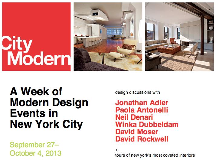 City Modern 2013