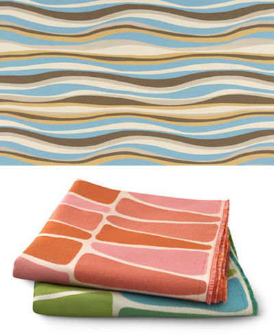 Angela Adams Sunbrella fabrics for Architex