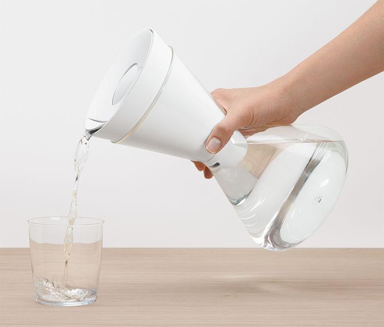 Soma Water biodegradable water carafe