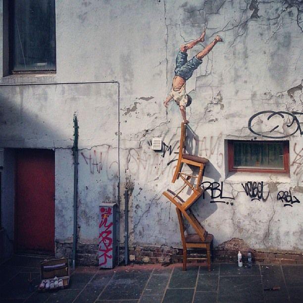 Ernest Zacharevic's Street Art Illusions