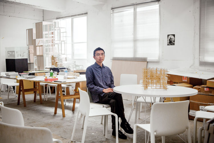 Japanese architect Sou Fujimoto