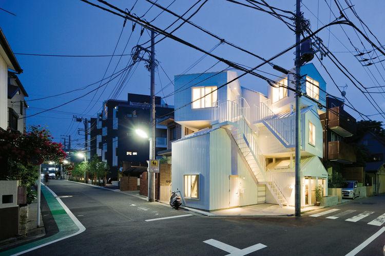 Tokyo apartment building by Sou Fujimoto