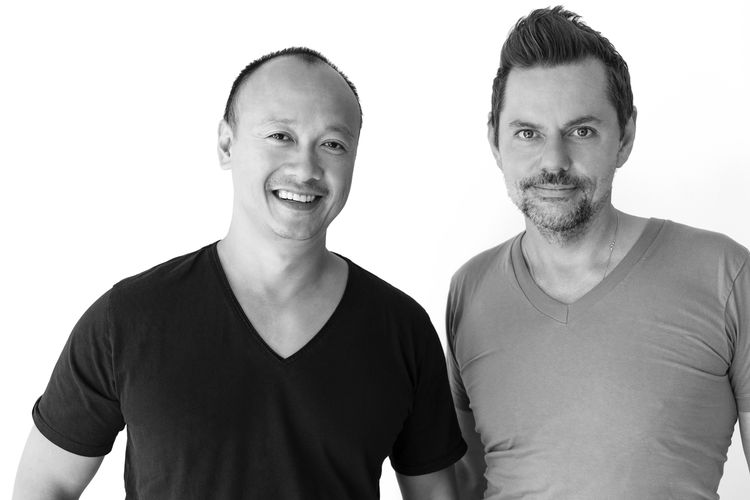 Markus Diebel and Joe Tan of Soma Water