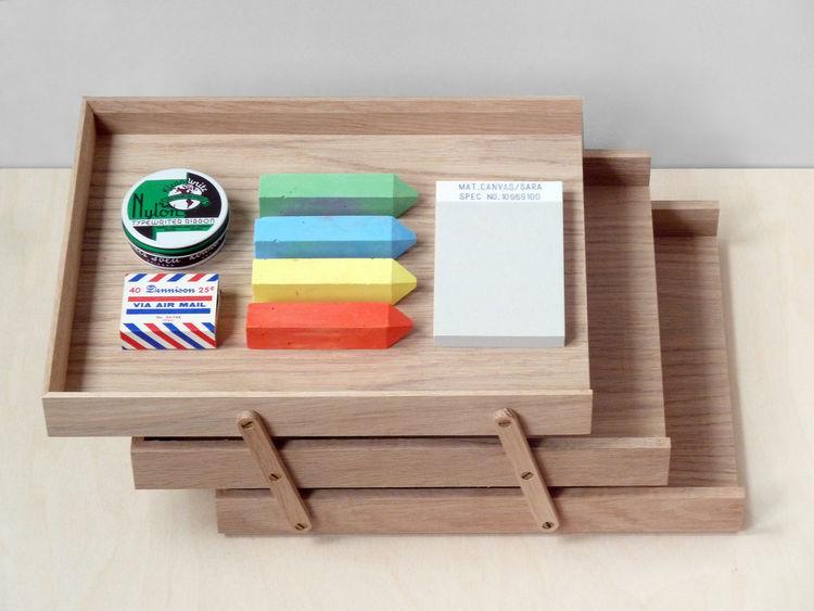 Oak desk tray for organization desktop school supplies shopping at Present & Correct