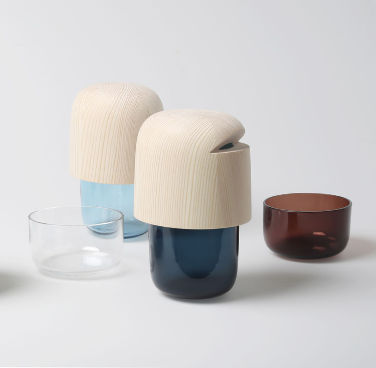 Tatti containers by Katrina Nuutinen