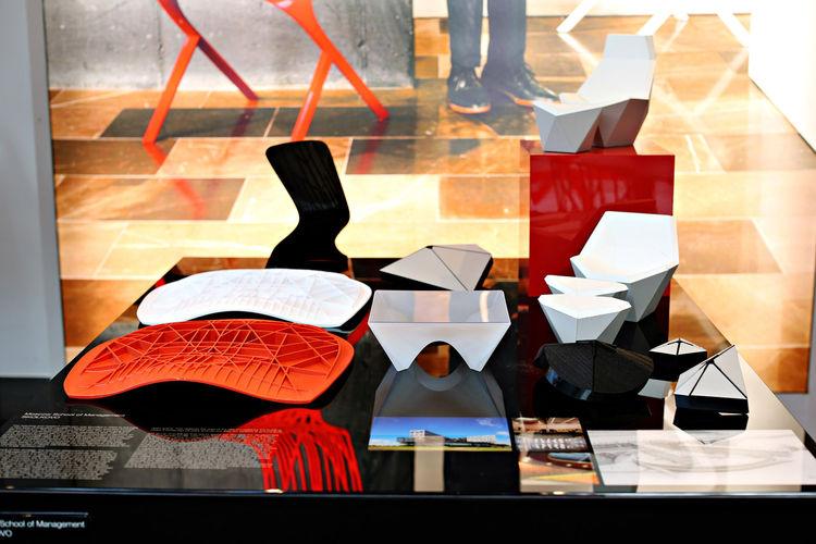 david adjaye models for knoll washington collection