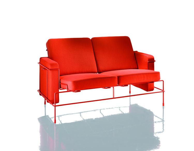 Magis Traffic sofa upholstered wireframe by Konstantin Grcic Salone del Mobile 2013