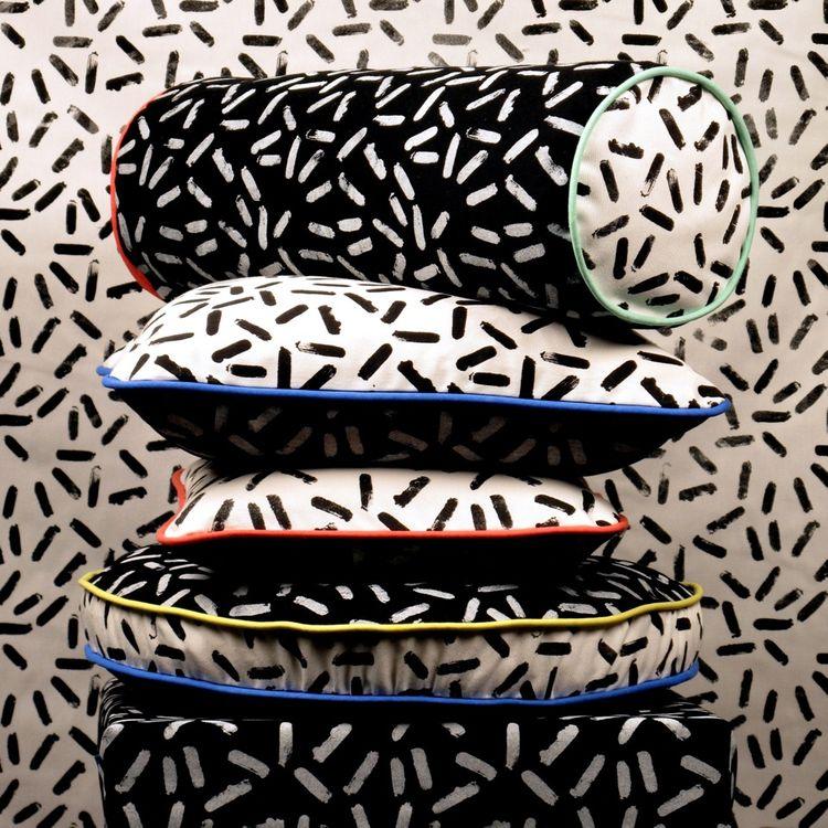 london design festival pattern pillows