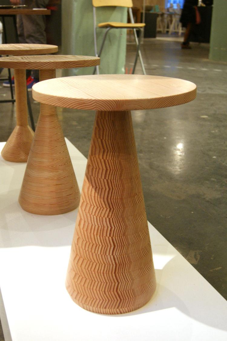 Gavin Coyle wooden Jac table London Design Festival 2013 trends