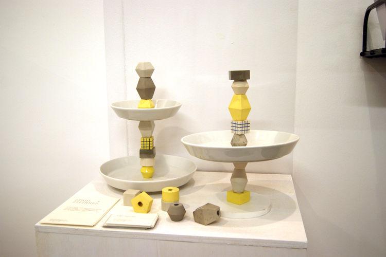 Inger Steinnes Dupla cake stand London Design Festival 2013 trends
