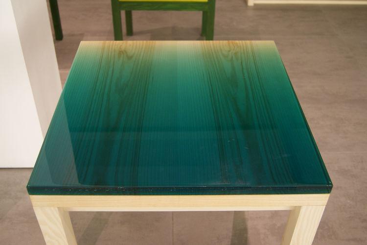 JO Nagasaka wood resin table Established & Sons London Design Festival 2013 trends