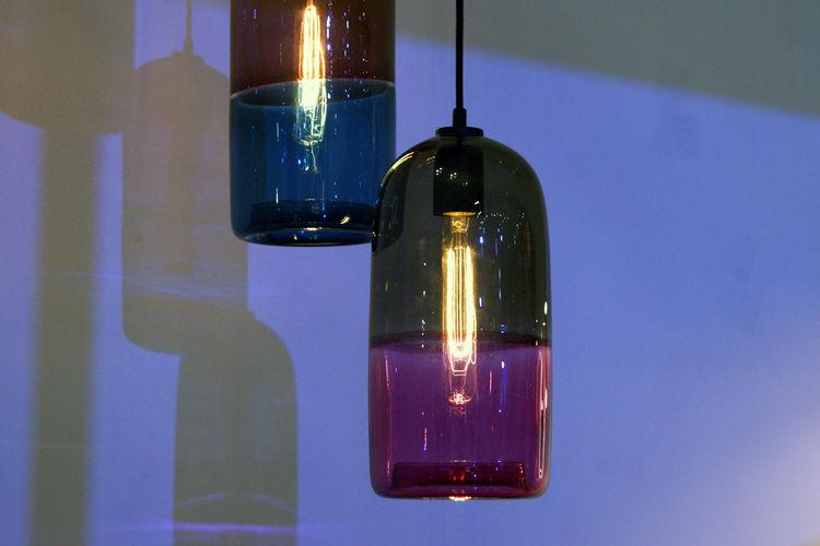 Mark Douglas Melbourne glass pendant lamps London Design Festival 2013 trends