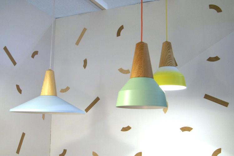 Schneid Eikon lamp ash wood pendant lamp London Design Festival 2013 trends