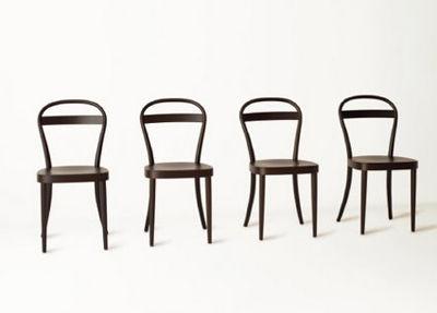 Muji and Thonet chairs