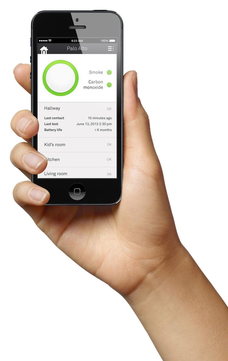 nest protect smoke detector mobile app