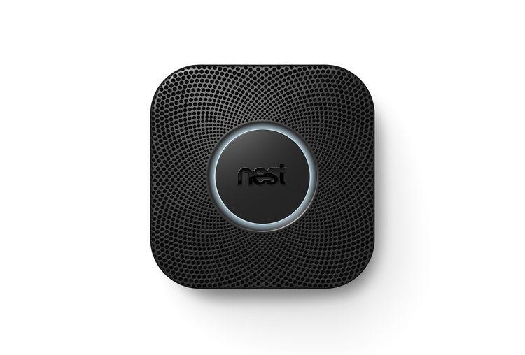 nest protect smoke detector black