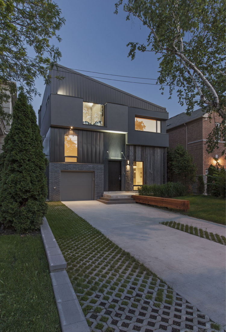 tetris house exterior