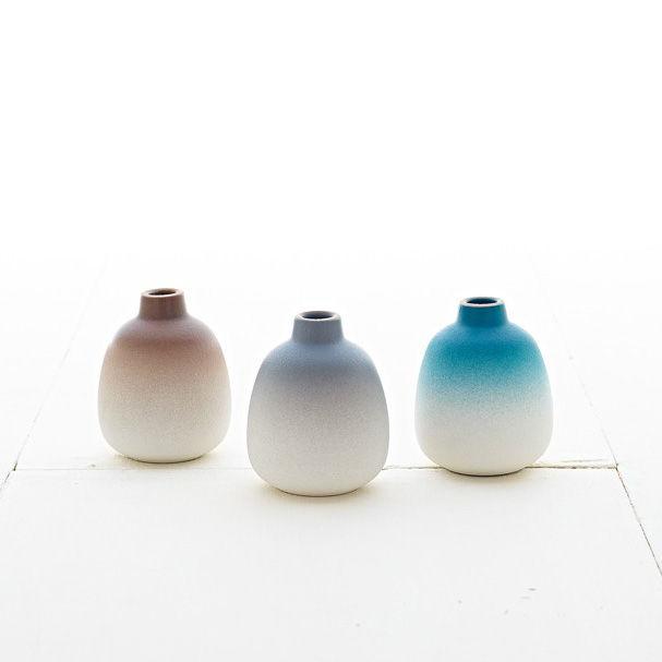 Heath Bud Vase Set - Winter Seasonal