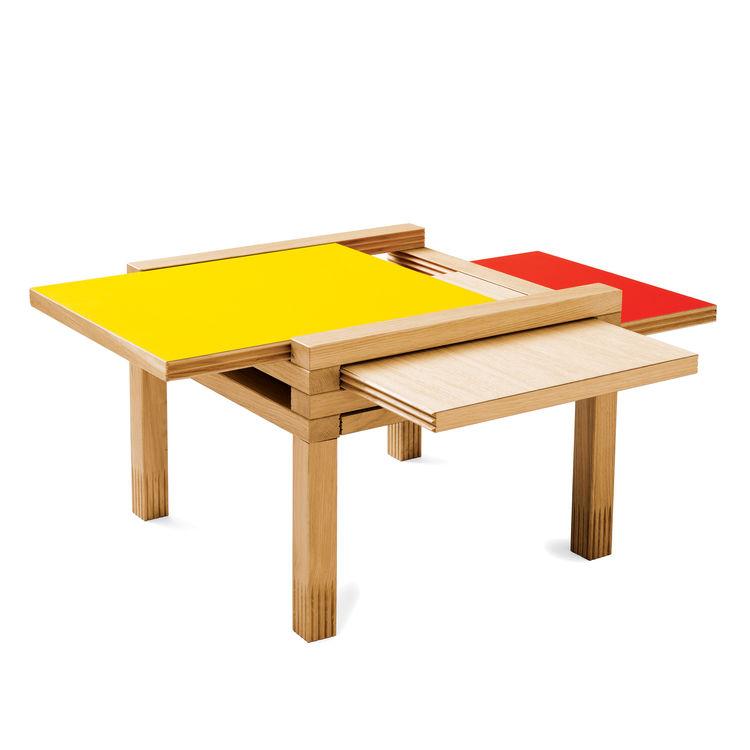 par4 coffee table by bernard vuarnesson