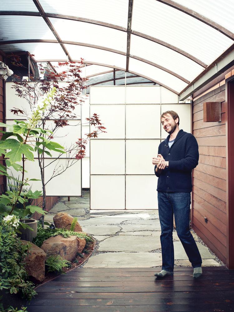 hollywood cabin loft garden