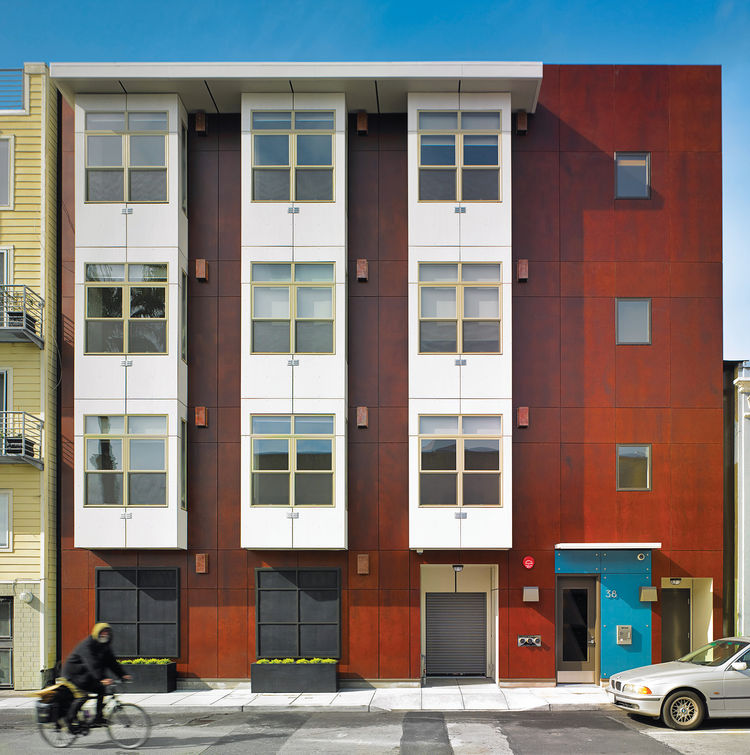 big ideas micro dwellings san francisco exterior