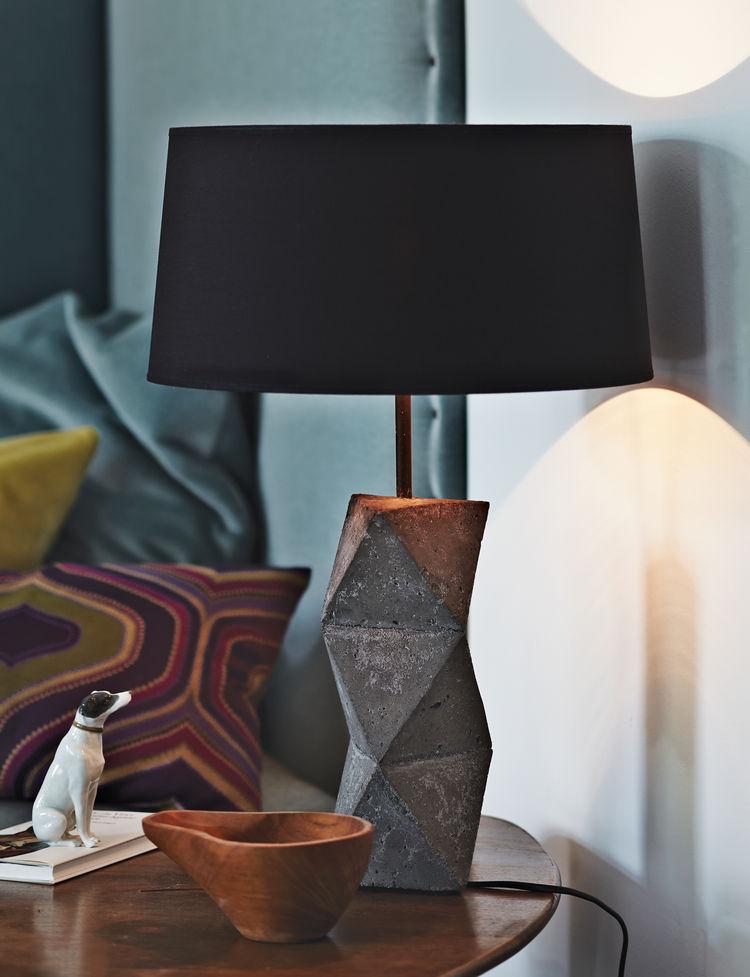 berlin apartment interior DIY lamp