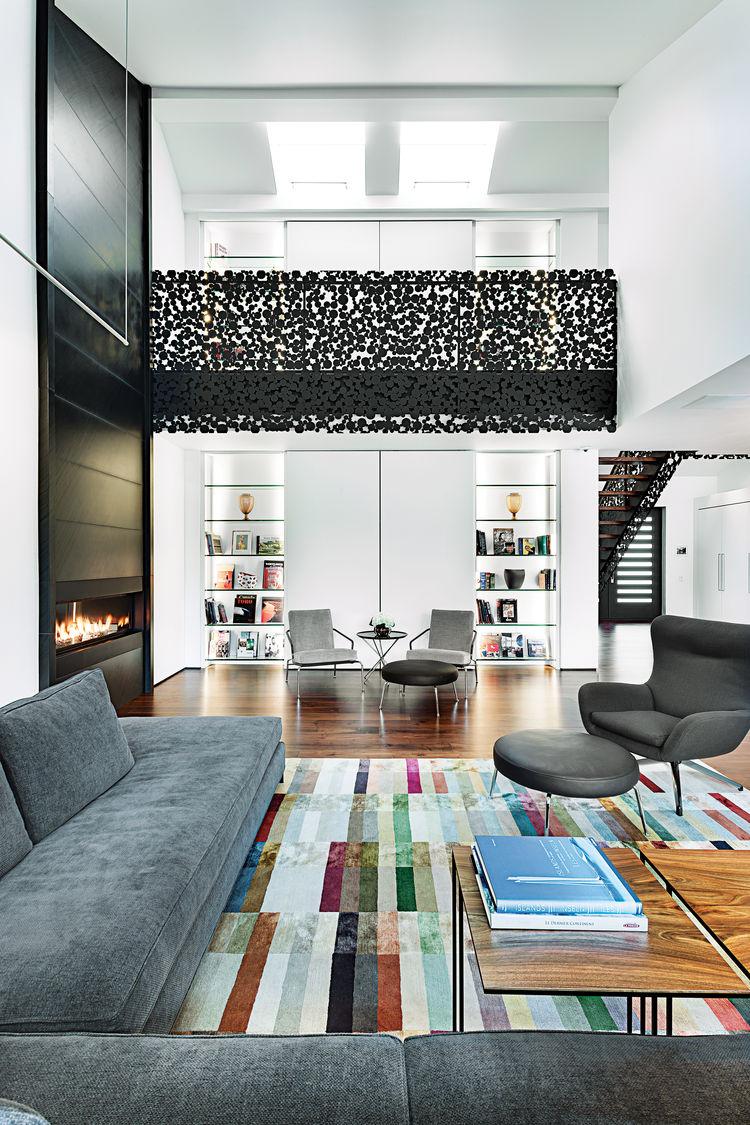 iron lace interior living room