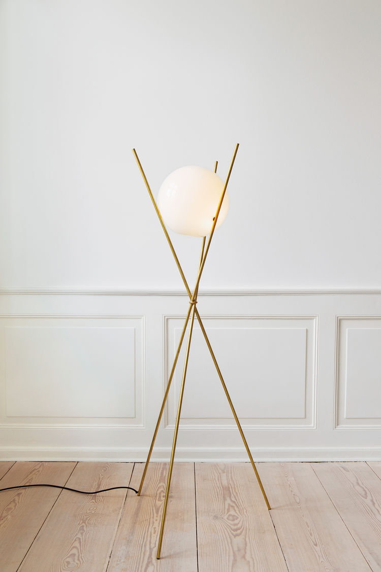 the apartment moonlight floor lamp