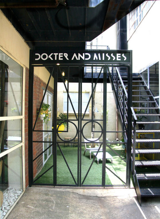Dokter Misses shop Johannesburg industrial graphic design travel