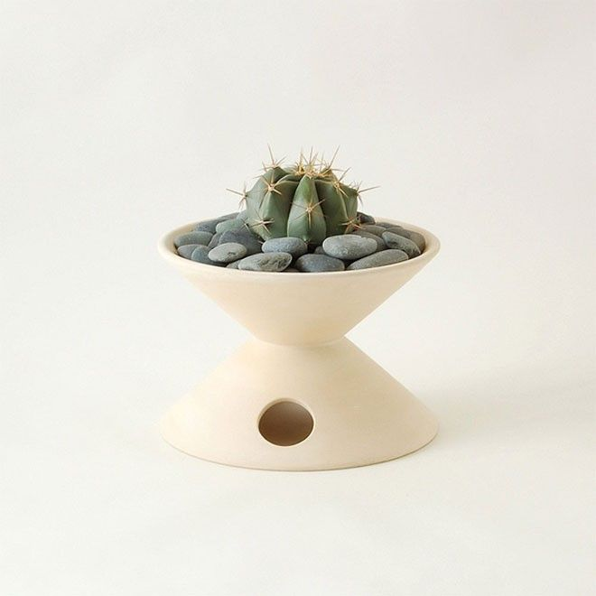 planter cactus succulent ceramic pottery Architectural Vessels gift guide