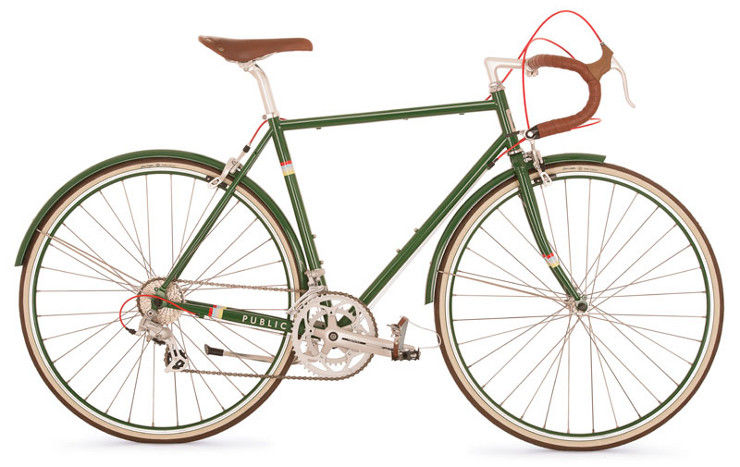Public R16 bicycle green Dwell Store
