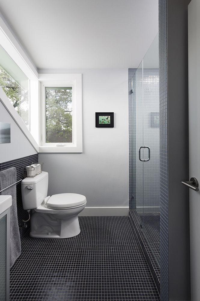 Bathroom Austin Texas bungalow remodel renovation Merzbau Design Collective