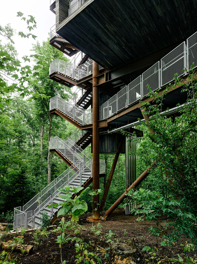 sustainable educational center for boy scouts of america