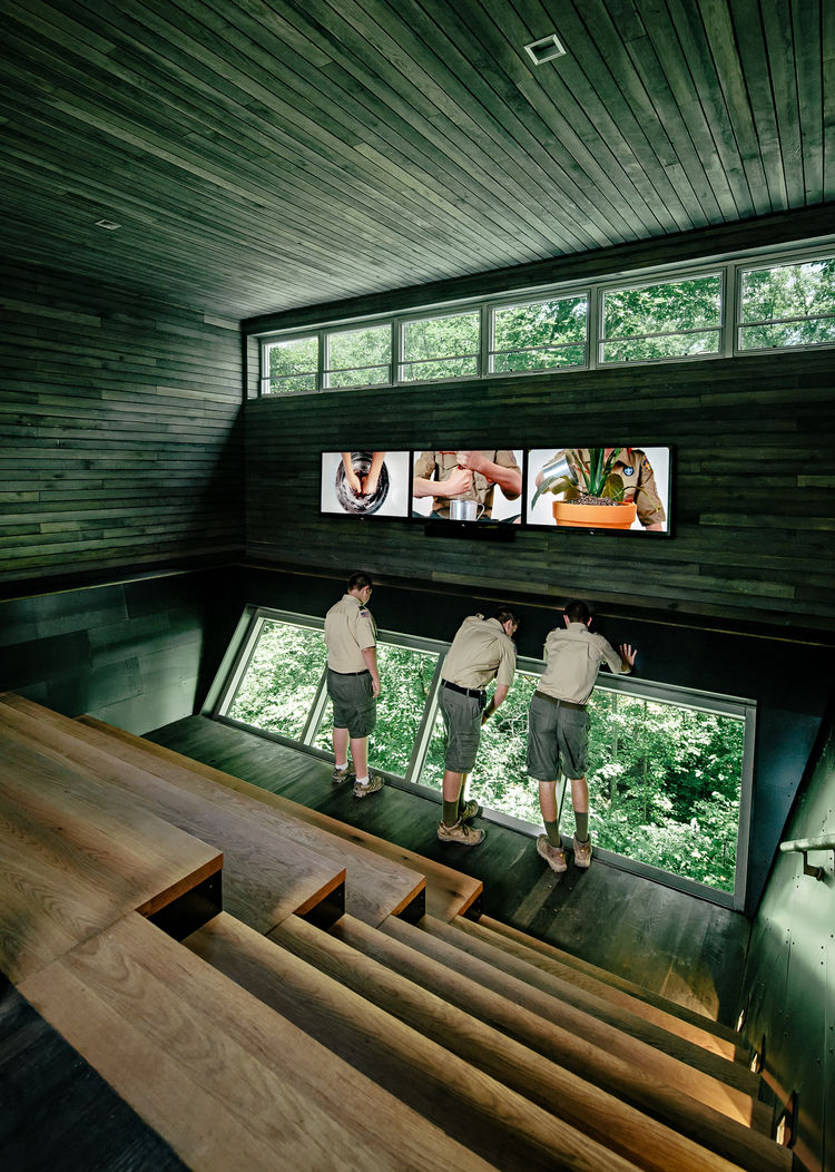sustainable educational center for the boy scouts of america