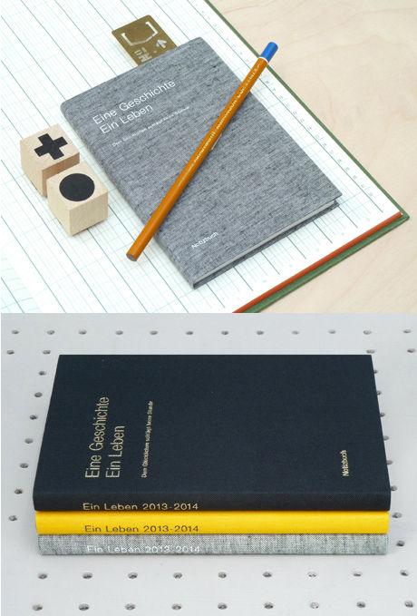 desktop diary paper calendar 2014 gift guide present & correct shop