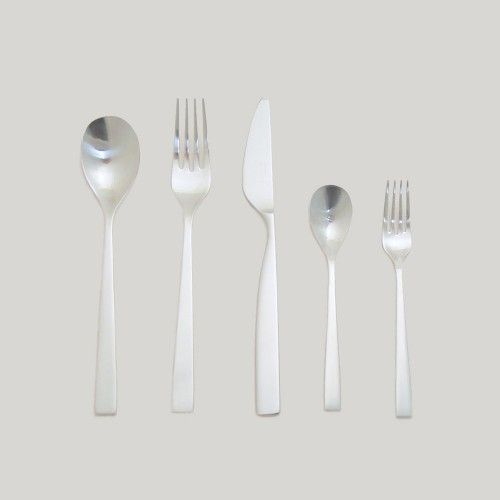 SUNAO - 5 PIECE FLATWARE PLACE SETTING